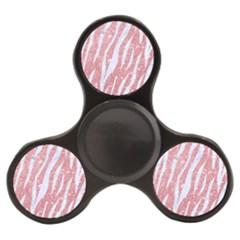Skin3 White Marble & Pink Glitter Finger Spinner by trendistuff