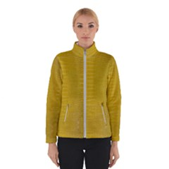 Yellow Alligator Skin Winterwear