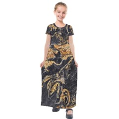 Granite 0567 Kids  Short Sleeve Maxi Dress