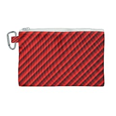 Abstract Red Art Canvas Cosmetic Bag (large) by goodart