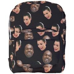 Crying Kim Kardashian Full Print Backpack