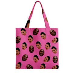 Crying Kim Kardashian Grocery Tote Bag