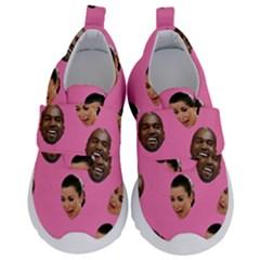 Crying Kim Kardashian Velcro Strap Shoes