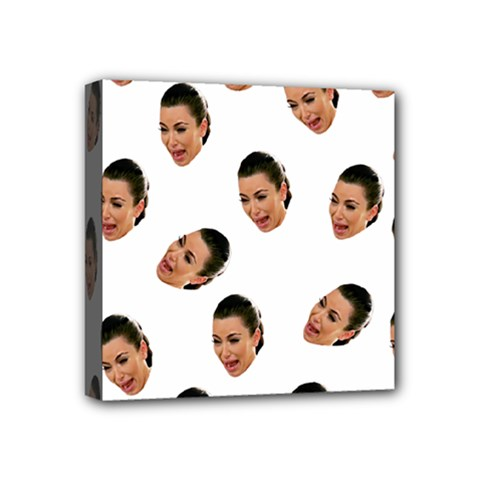 Crying Kim Kardashian Mini Canvas 4  X 4