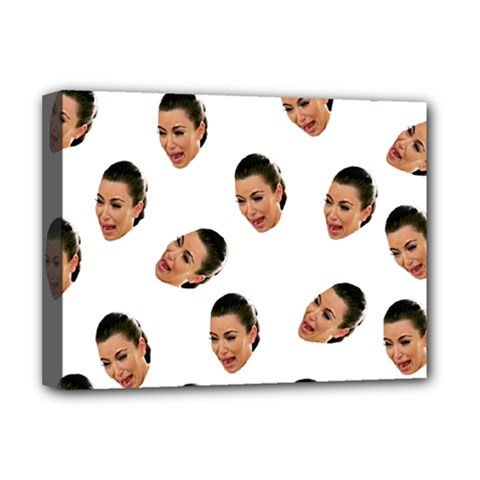 Crying Kim Kardashian Deluxe Canvas 16  X 12
