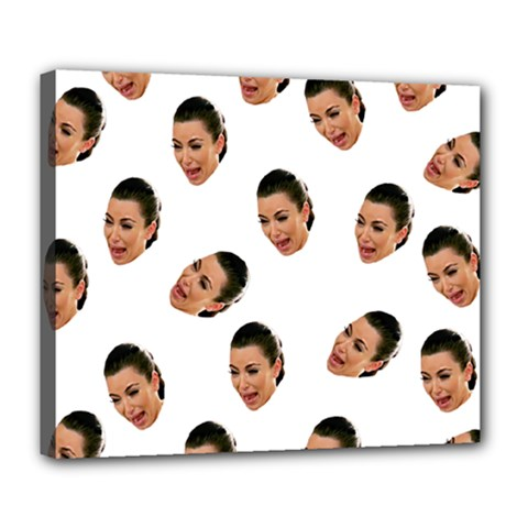 Crying Kim Kardashian Deluxe Canvas 24  X 20