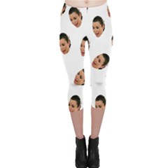 Crying Kim Kardashian Capri Leggings