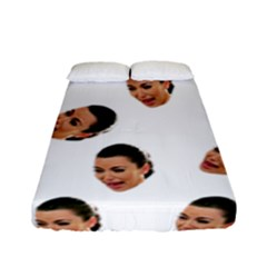 Crying Kim Kardashian Fitted Sheet (full/ Double Size)