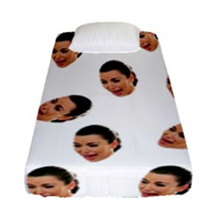 Crying Kim Kardashian Fitted Sheet (single Size)