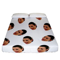 Crying Kim Kardashian Fitted Sheet (california King Size)