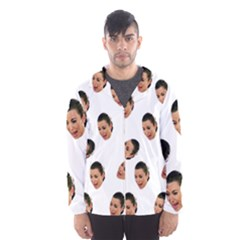 Crying Kim Kardashian Hooded Windbreaker (men)