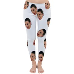 Crying Kim Kardashian Classic Winter Leggings