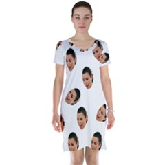Crying Kim Kardashian Short Sleeve Nightdress
