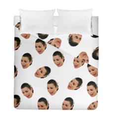 Crying Kim Kardashian Duvet Cover Double Side (full/ Double Size)