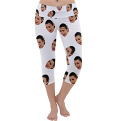 Crying Kim Kardashian Capri Yoga Leggings
