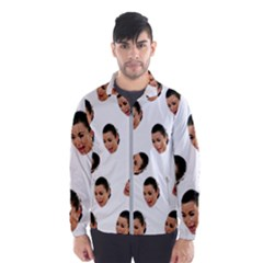Crying Kim Kardashian Windbreaker (men)