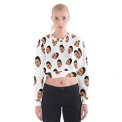 Crying Kim Kardashian Cropped Sweatshirt