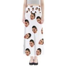 Crying Kim Kardashian Full Length Maxi Skirt