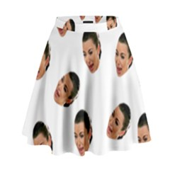 Crying Kim Kardashian High Waist Skirt