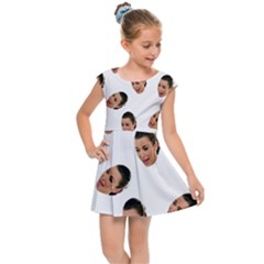 Crying Kim Kardashian Kids Cap Sleeve Dress