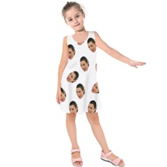 Crying Kim Kardashian Kids  Sleeveless Dress