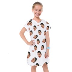 Crying Kim Kardashian Kids  Drop Waist Dress