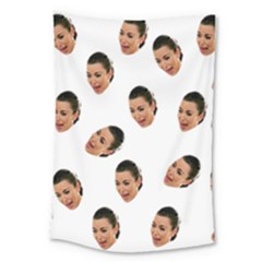 Crying Kim Kardashian Large Tapestry