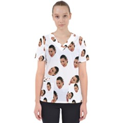 Crying Kim Kardashian Scrub Top