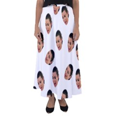Crying Kim Kardashian Flared Maxi Skirt