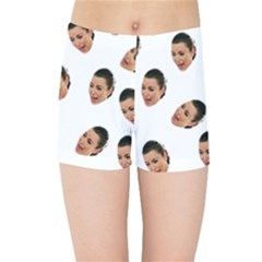 Crying Kim Kardashian Kids Sports Shorts