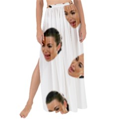 Crying Kim Kardashian Maxi Chiffon Tie Up Sarong