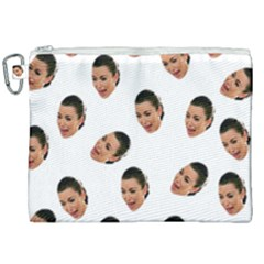 Crying Kim Kardashian Canvas Cosmetic Bag (xxl)