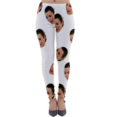 Crying Kim Kardashian Lightweight Velour Leggings
