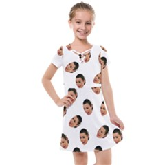 Crying Kim Kardashian Kids  Cross Web Dress