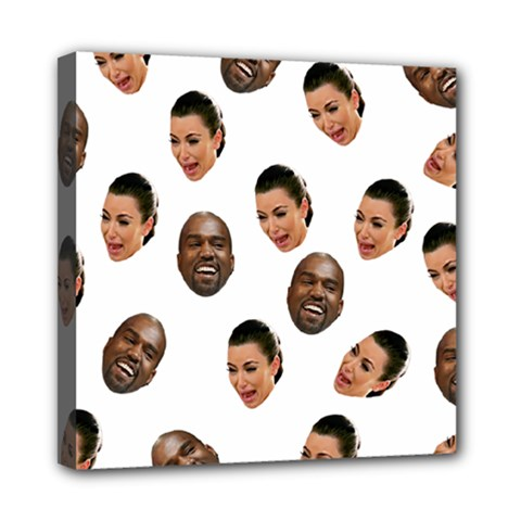 Crying Kim Kardashian Mini Canvas 8  X 8