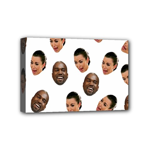 Crying Kim Kardashian Mini Canvas 6  X 4