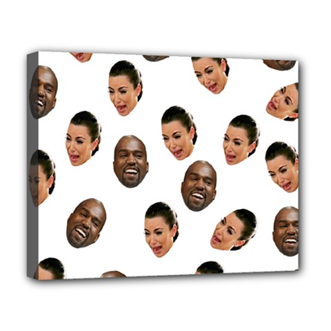 Crying Kim Kardashian Deluxe Canvas 20  X 16
