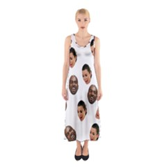 Crying Kim Kardashian Sleeveless Maxi Dress