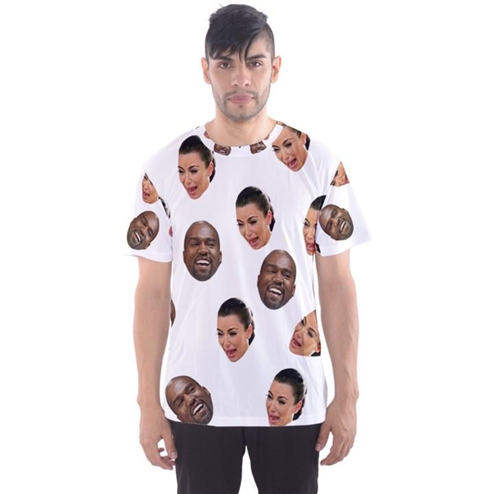 Crying Kim Kardashian Men s Sports Mesh Tee