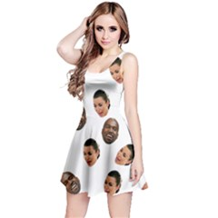 Crying Kim Kardashian Reversible Sleeveless Dress