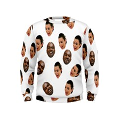 Crying Kim Kardashian Kids  Sweatshirt