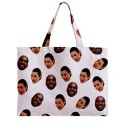 Crying Kim Kardashian Zipper Mini Tote Bag
