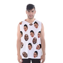 Crying Kim Kardashian Men s Basketball Tank Top