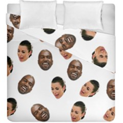 Crying Kim Kardashian Duvet Cover Double Side (king Size)