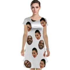 Crying Kim Kardashian Cap Sleeve Nightdress