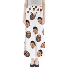 Crying Kim Kardashian Full Length Maxi Skirt