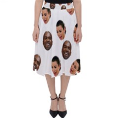 Crying Kim Kardashian Folding Skater Skirt