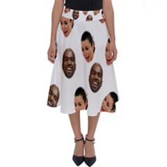 Crying Kim Kardashian Perfect Length Midi Skirt