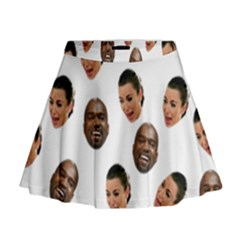 Crying Kim Kardashian Mini Flare Skirt