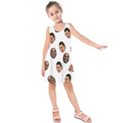 Crying Kim Kardashian Kids  Sleeveless Dress